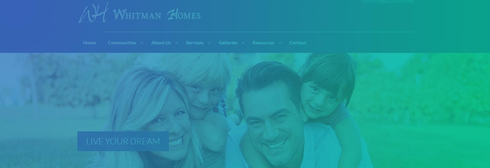New Website Launched for Whitman Homes