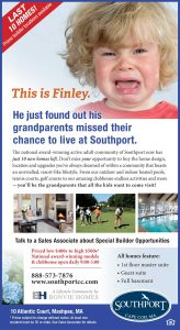 Southport Print Ad