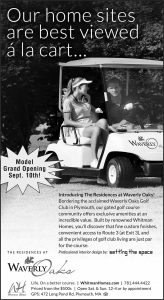 black and white newspaper ad