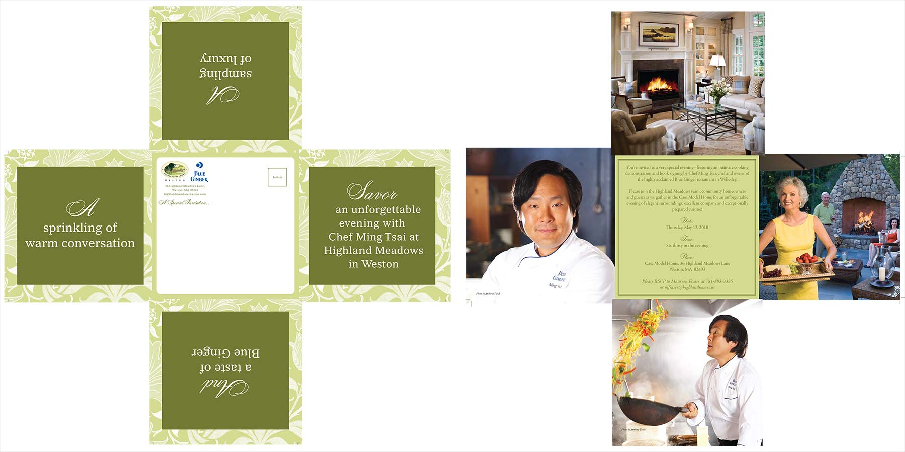 chef ming print invite